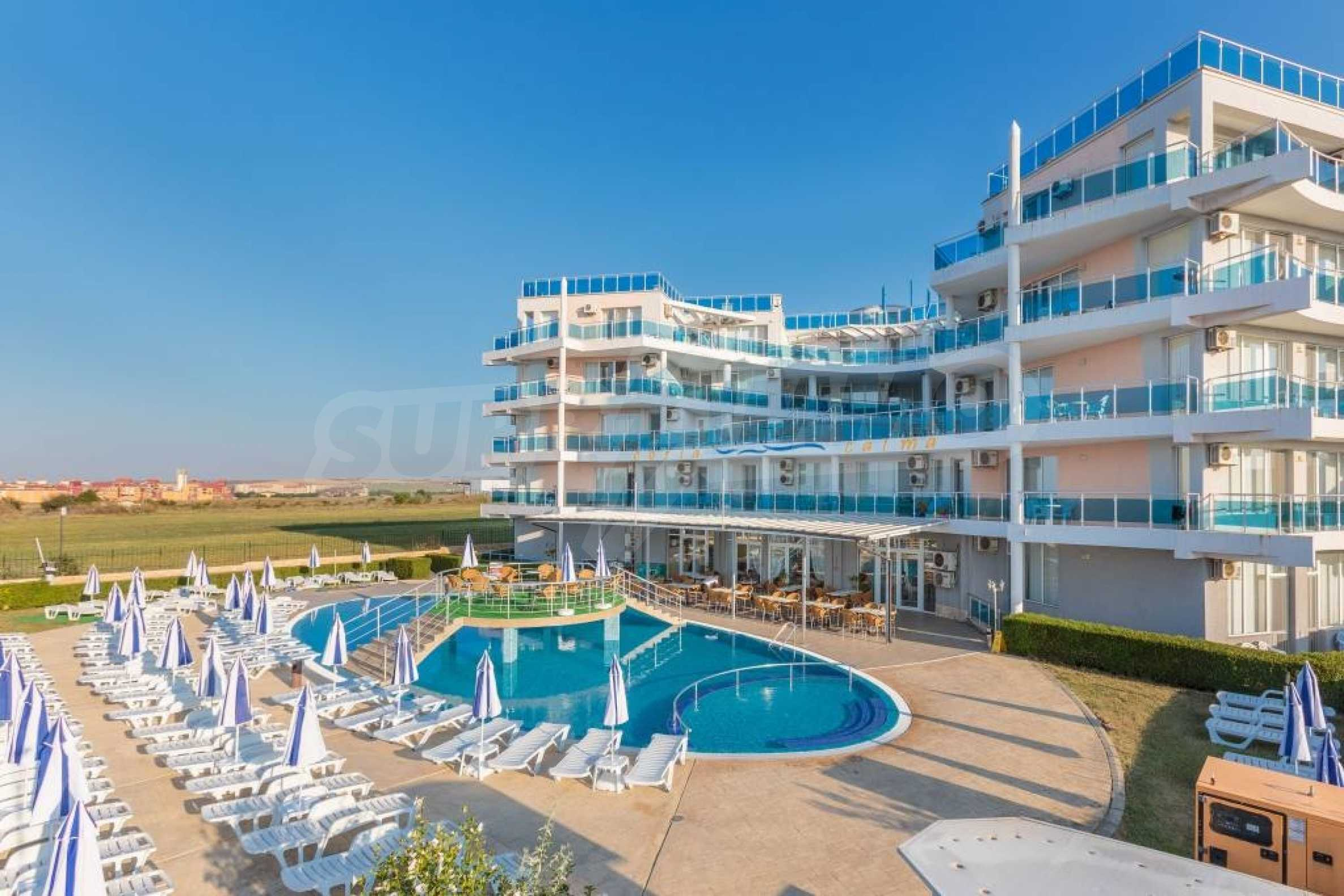 Large apartment with sea view in a complex near the villages of Ravda and Aheloy 55