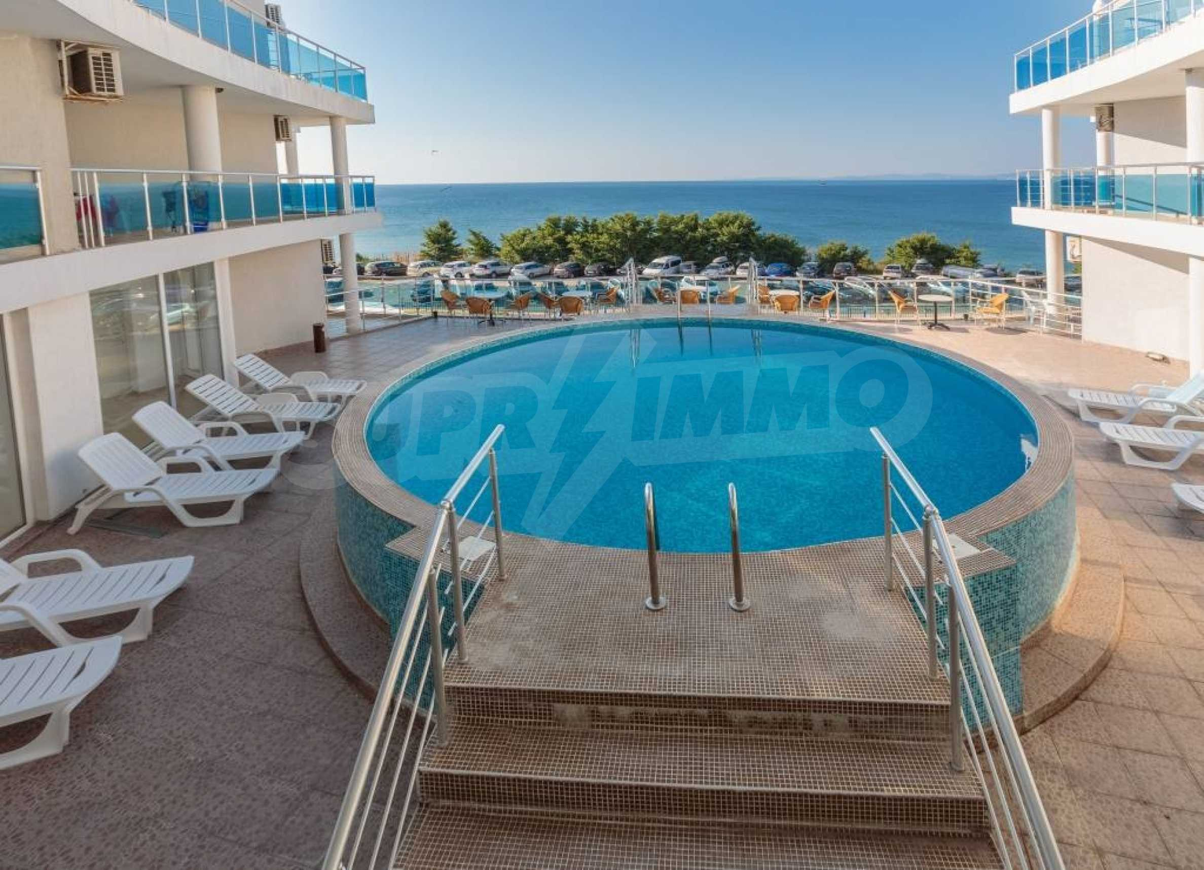 Large apartment with sea view in a complex near the villages of Ravda and Aheloy 62