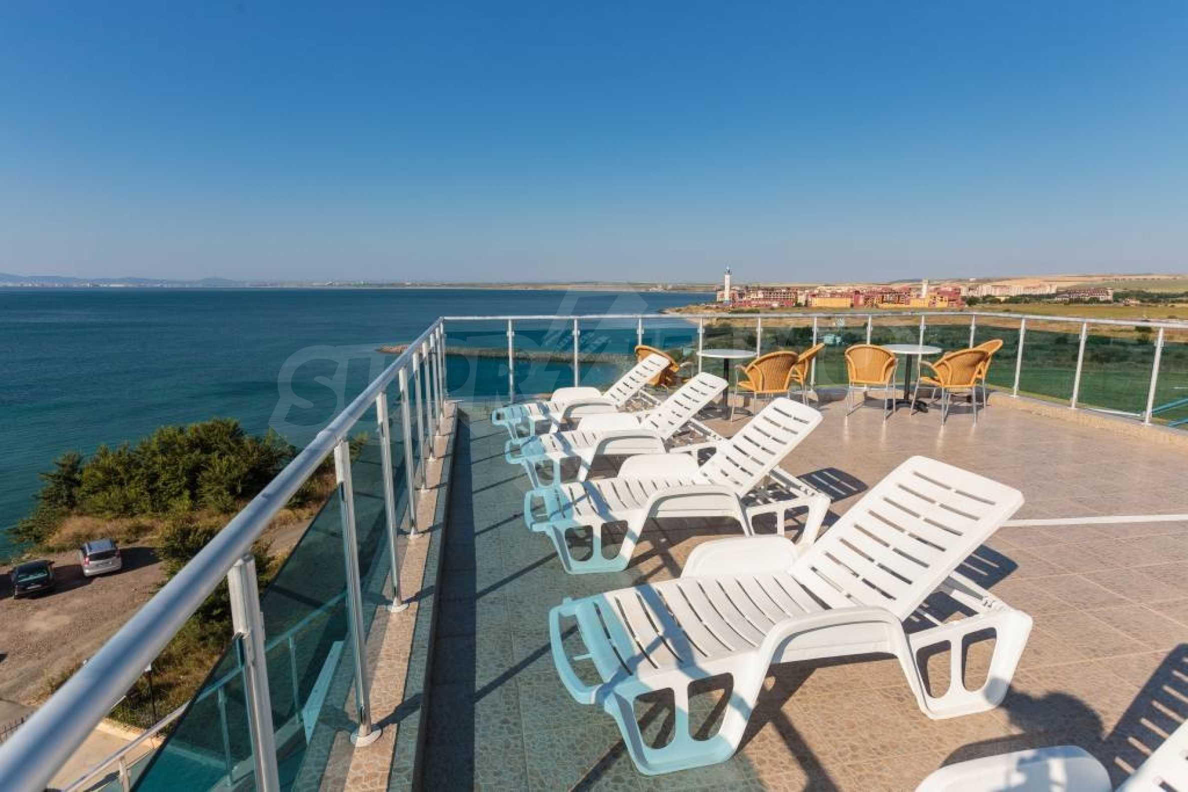 Large apartment with sea view in a complex near the villages of Ravda and Aheloy 66
