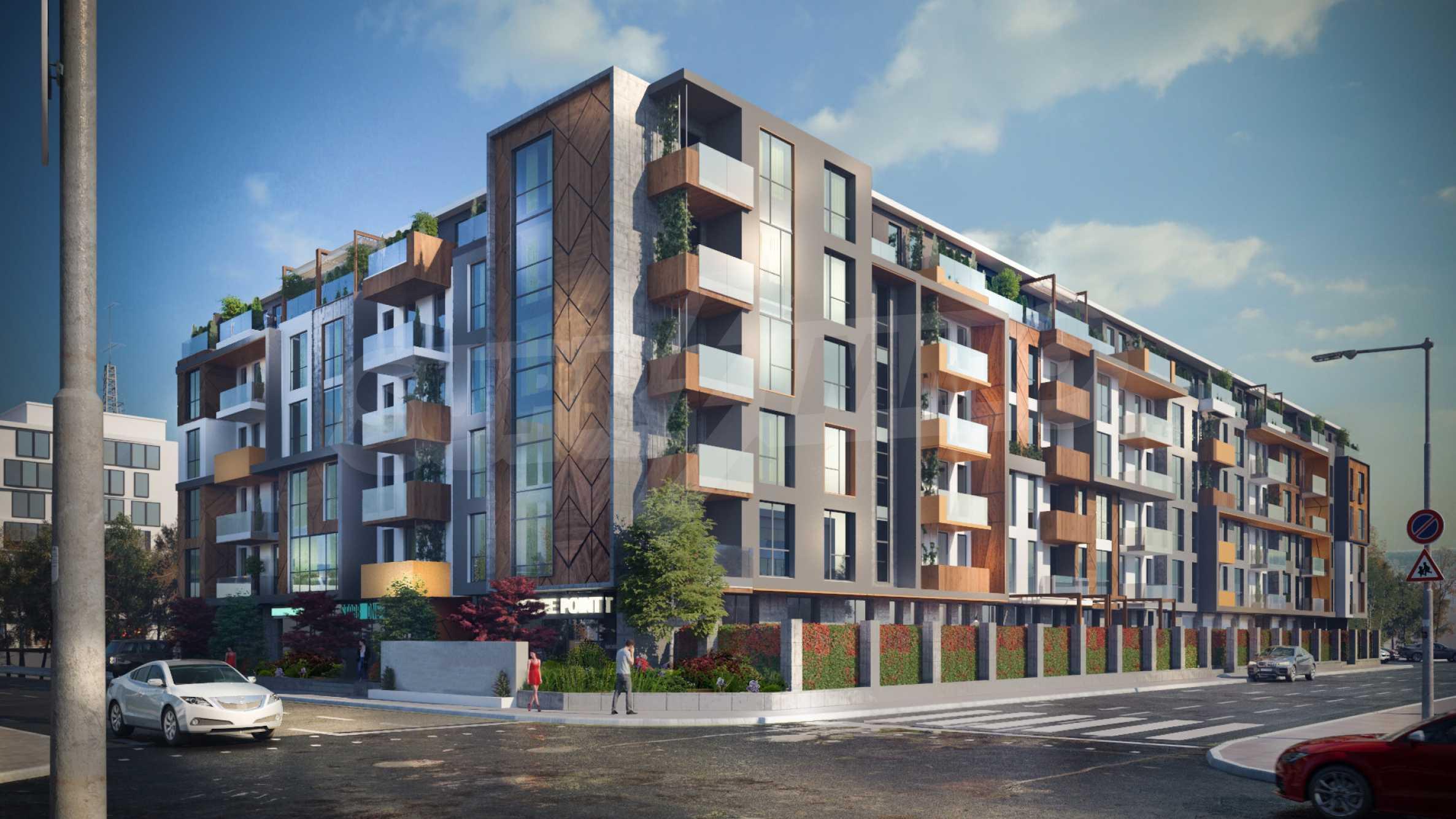 Ексклузивен комплекс на отлична локация в близост до бъдеща метростанция  12