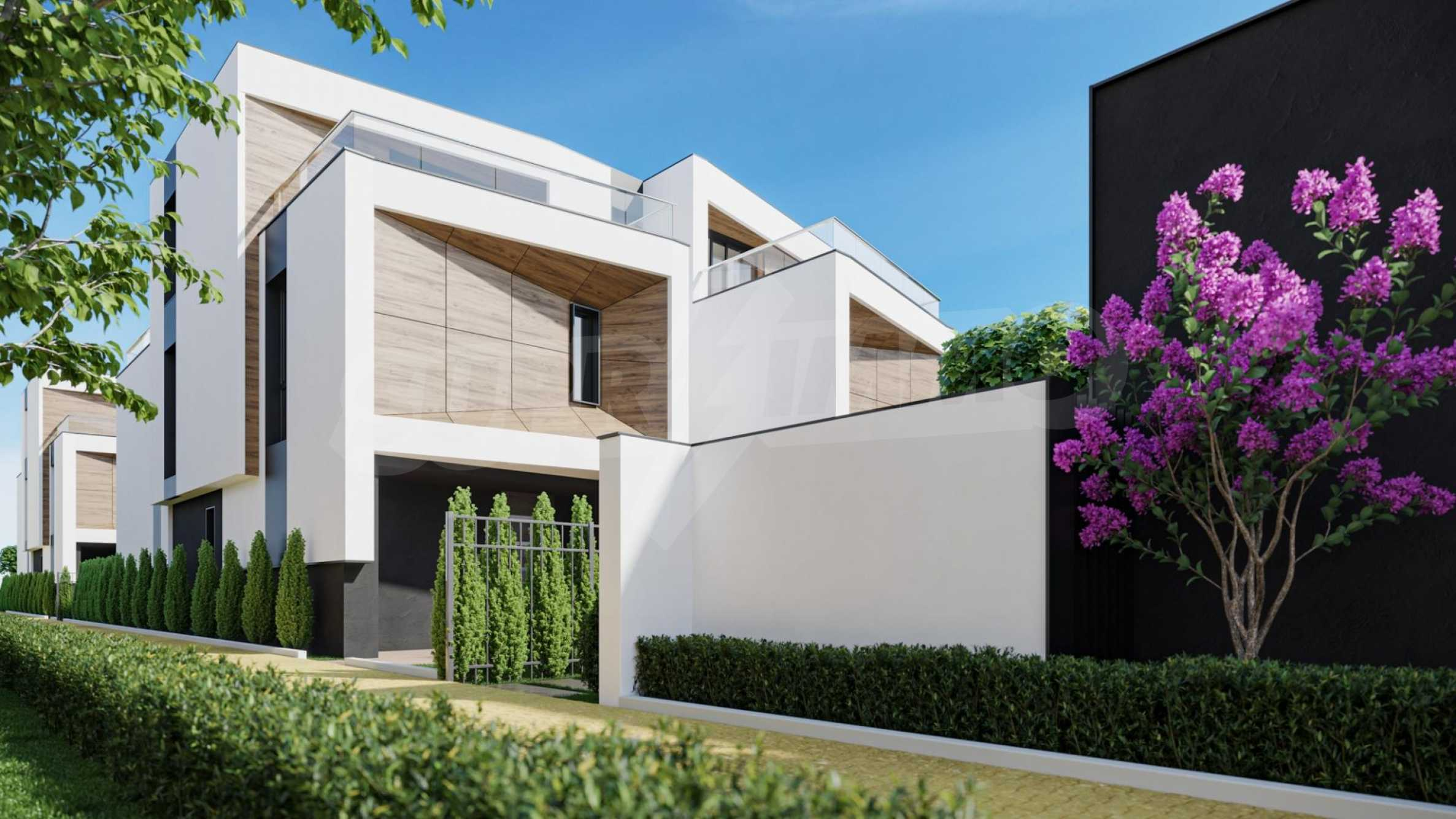 "Modern new house type ""twin"" in a complex 50 meters from the sea 2"