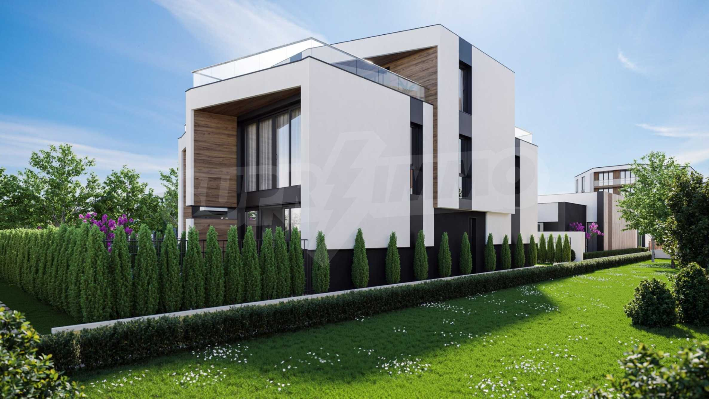 "Modern new house type ""twin"" in a complex 50 meters from the sea 1"