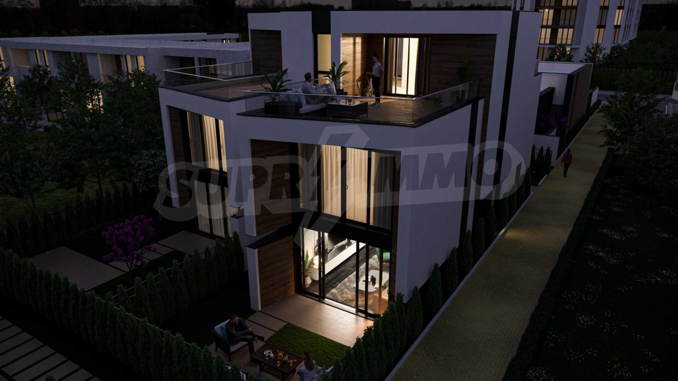 "Modern new house type ""twin"" in a complex 50 meters from the sea 5"