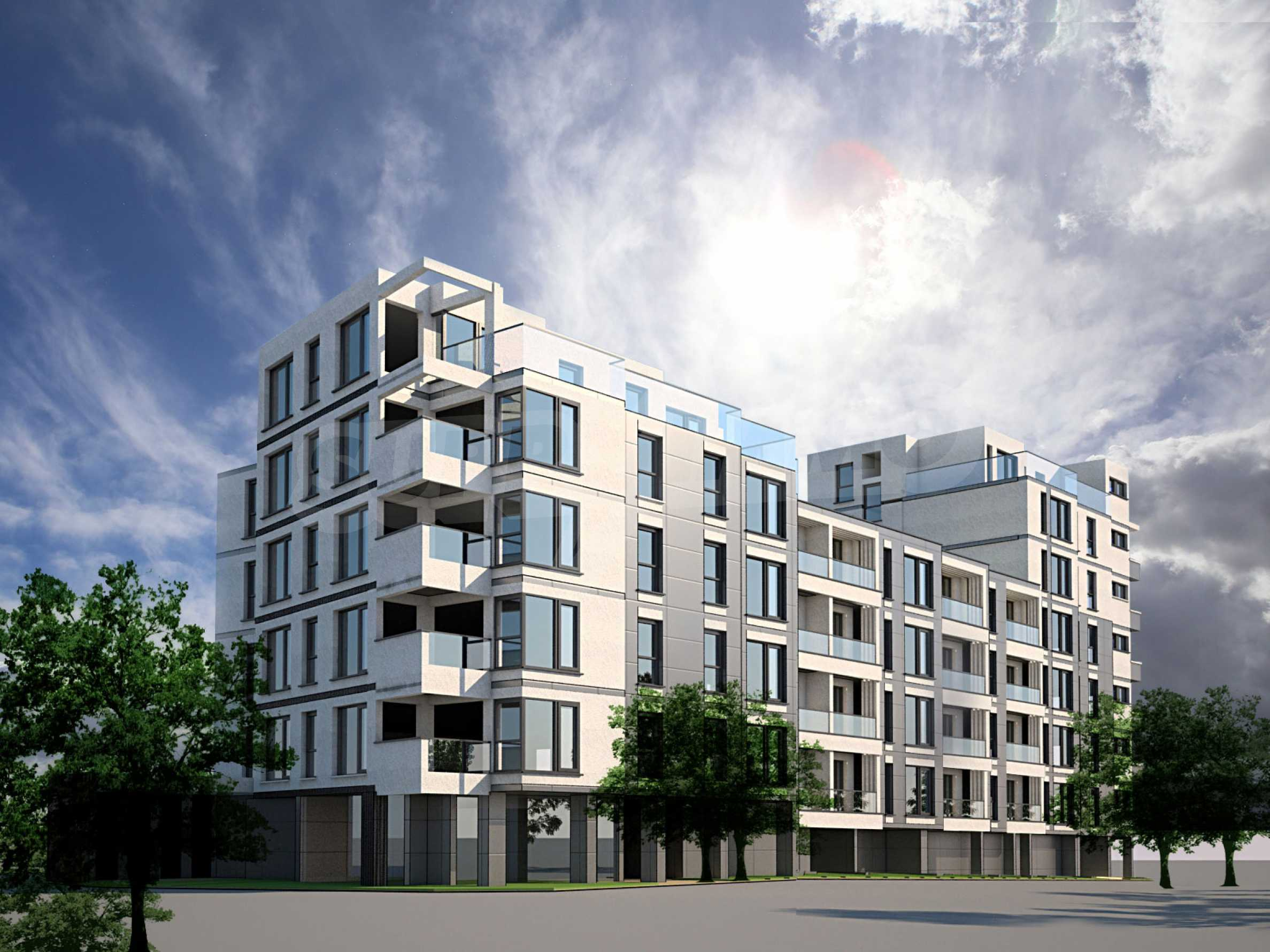 """Residential complex in zh.k. """"Students' town"""""""