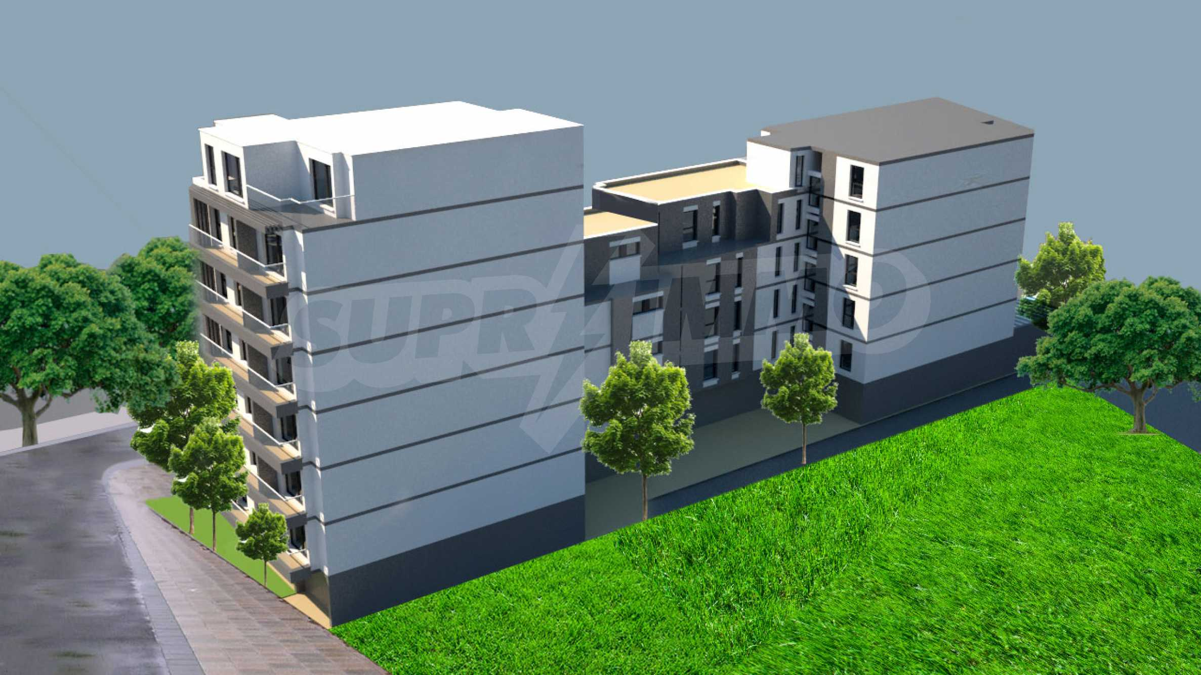 """Residential complex in zh.k. """"Students' town"""" 2"""