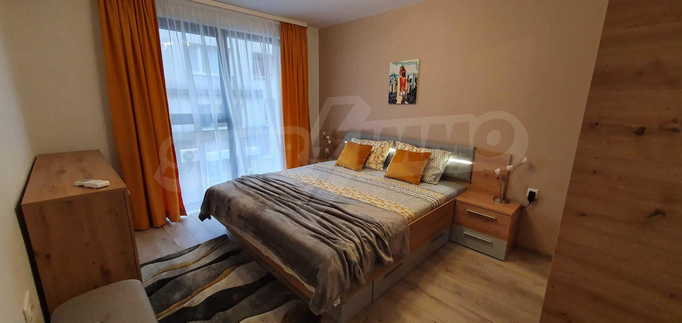 Новая стильно меблированная двухкомнатная квартира в Пловдиве, Центральный район, Каменица 9