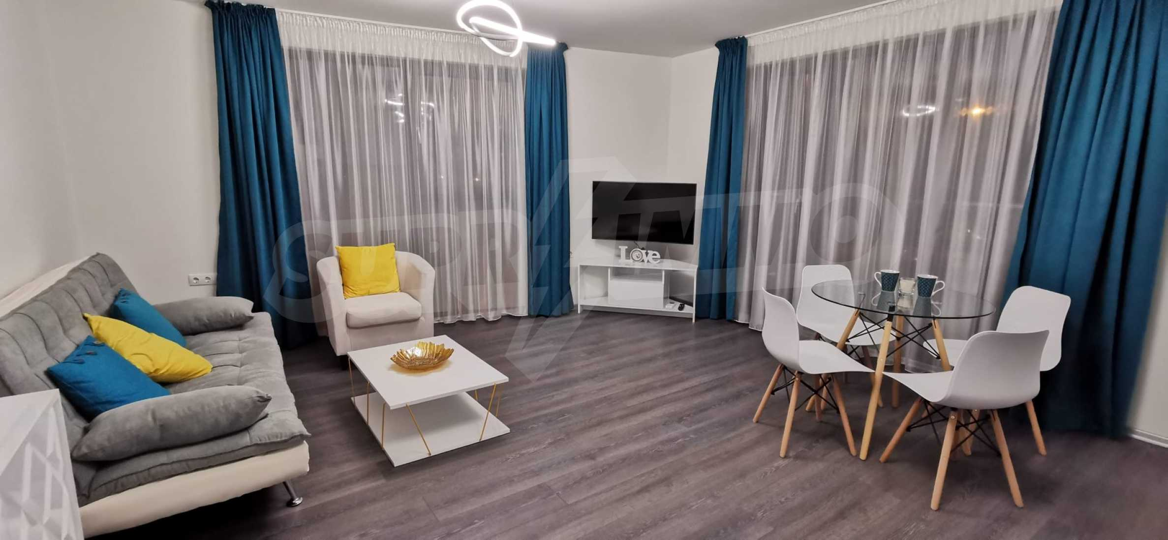Новая стильно меблированная двухкомнатная квартира в Пловдиве, Центральный район, Каменица 3