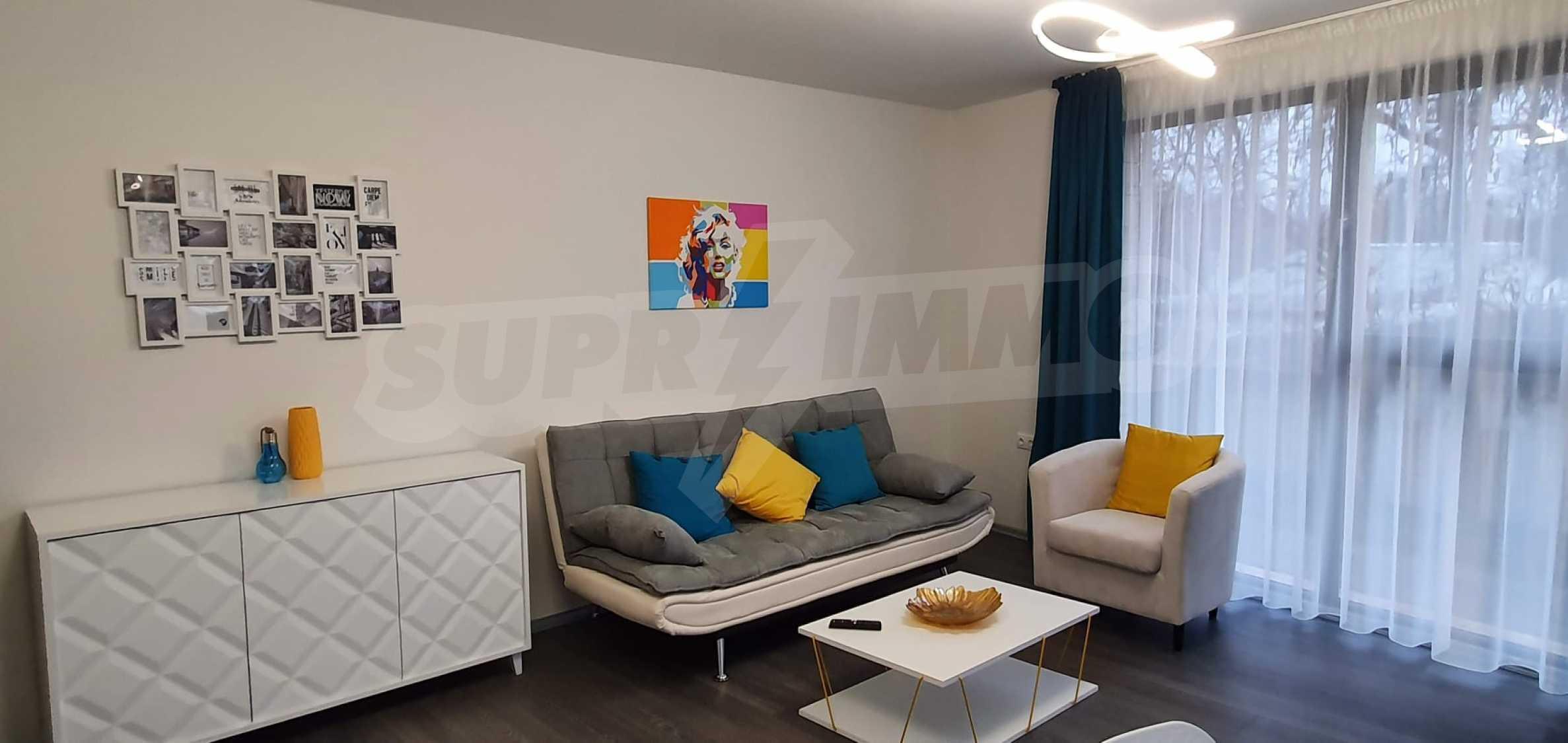 Новая стильно меблированная двухкомнатная квартира в Пловдиве, Центральный район, Каменица 4