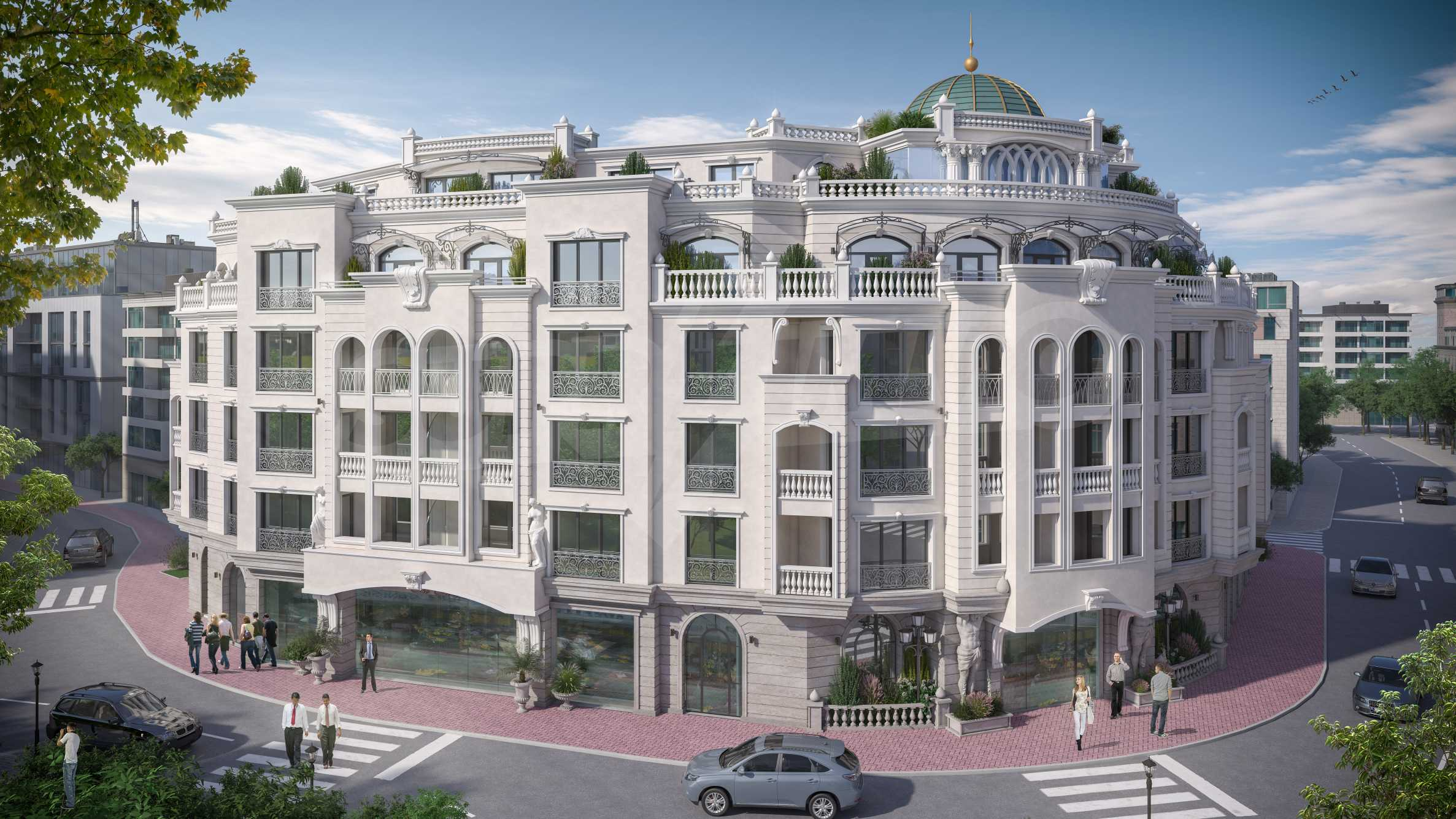 One-bedroom apartment in a luxury residence 100 meters from the sea 1