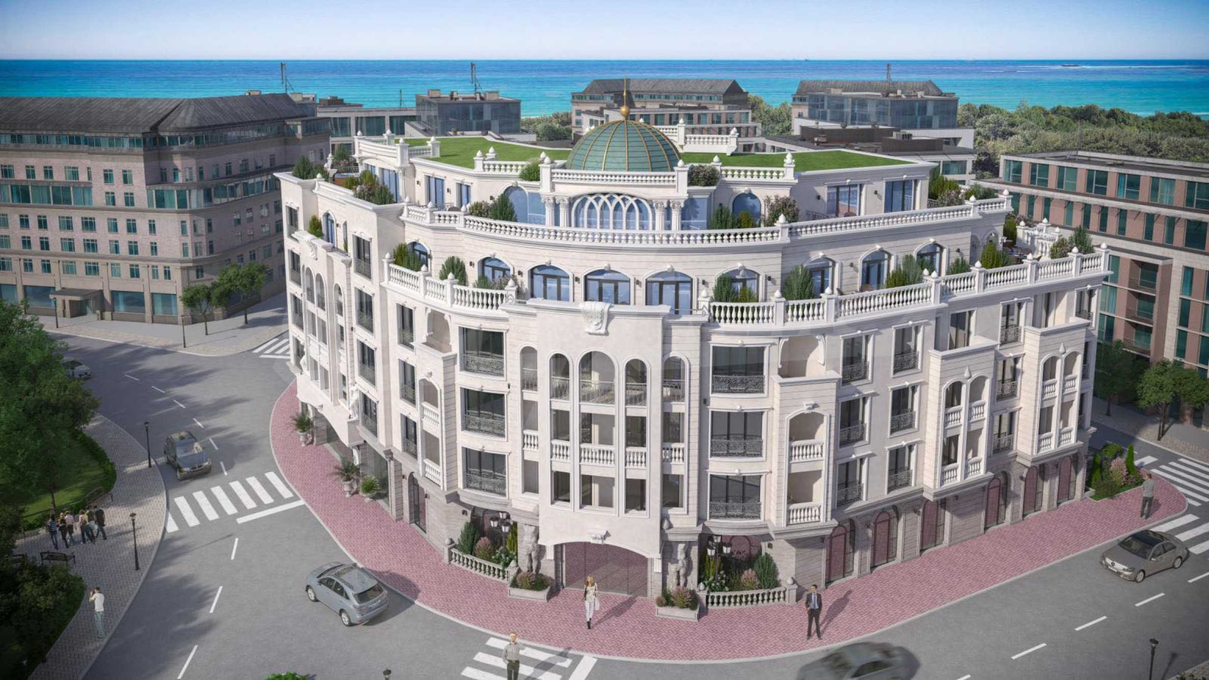 One-bedroom apartment in a luxury residence 100 meters from the sea 3