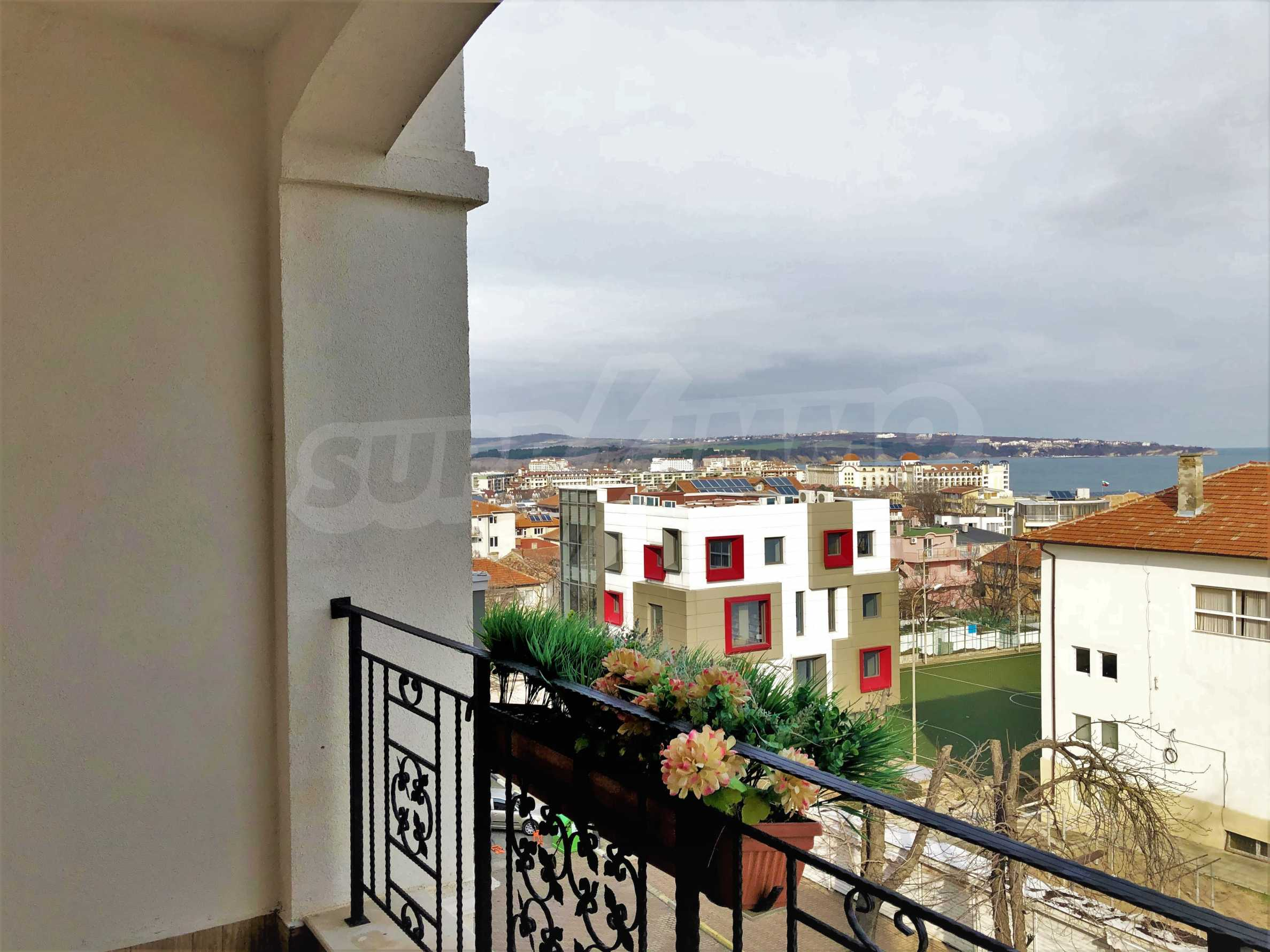 Apartment The Center - turnkey property with sea view, in the center of Obzor 1