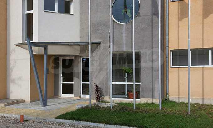 2-Raum-Apartment mit einem eigenen Garten im Komplex Danubia Beach 14