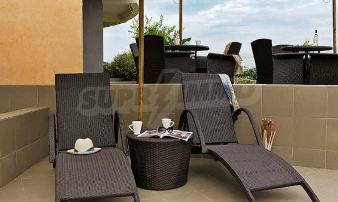 2-Raum-Apartment mit einem eigenen Garten im Komplex Danubia Beach 18