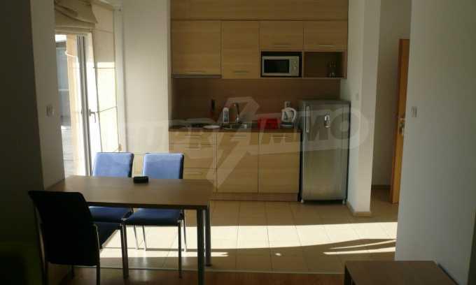 2-Raum-Apartment mit einem eigenen Garten im Komplex Danubia Beach 1
