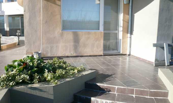 2-Raum-Apartment mit einem eigenen Garten im Komplex Danubia Beach 23