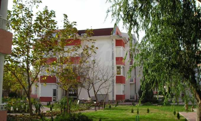 Двухкомнатная квартира в комплексе «Сани Форт» 35