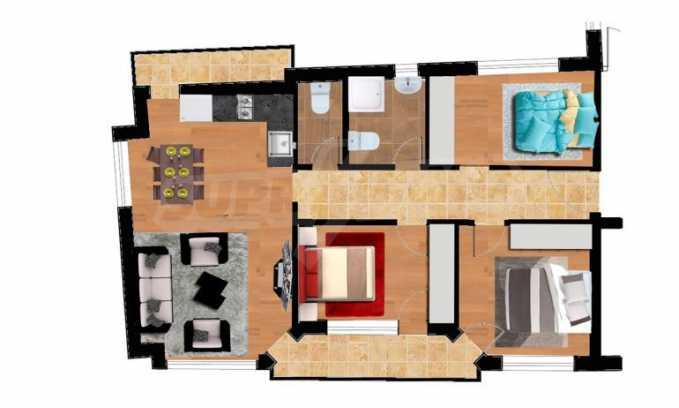 Нова сграда с апартаменти и паркоместа до Икономическия Университет 2