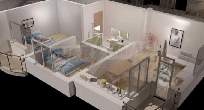 Новострояща се сграда с гаражи в добре развит квартал на София 4