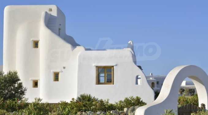 Самостоятелна вила в комплекс на остров Миконос 2