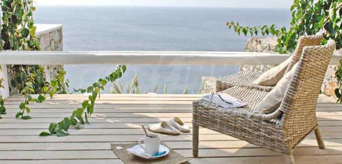 Разкошна вила на морски залив, остров Миконос 23