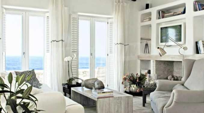 Разкошна вила на морски залив, остров Миконос 7