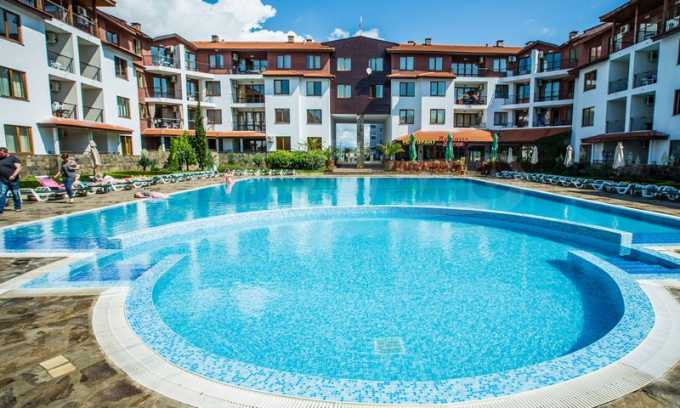 One-bedroom apartment in a luxurious apartment complex in Ravda village
