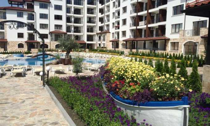 2-Raum-Apartment im Elite-Komplex zwischen dem Dorf Rawda und der Stadt Nessebar 16