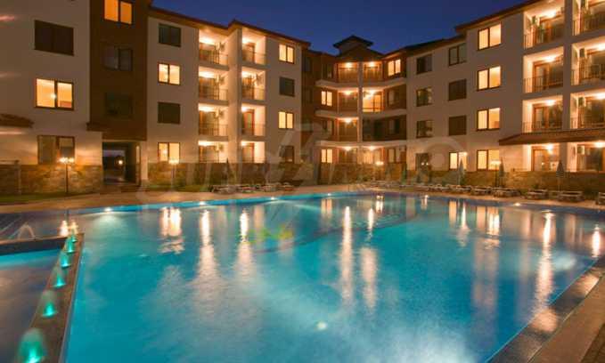 2-Raum-Apartment im Elite-Komplex zwischen dem Dorf Rawda und der Stadt Nessebar 25