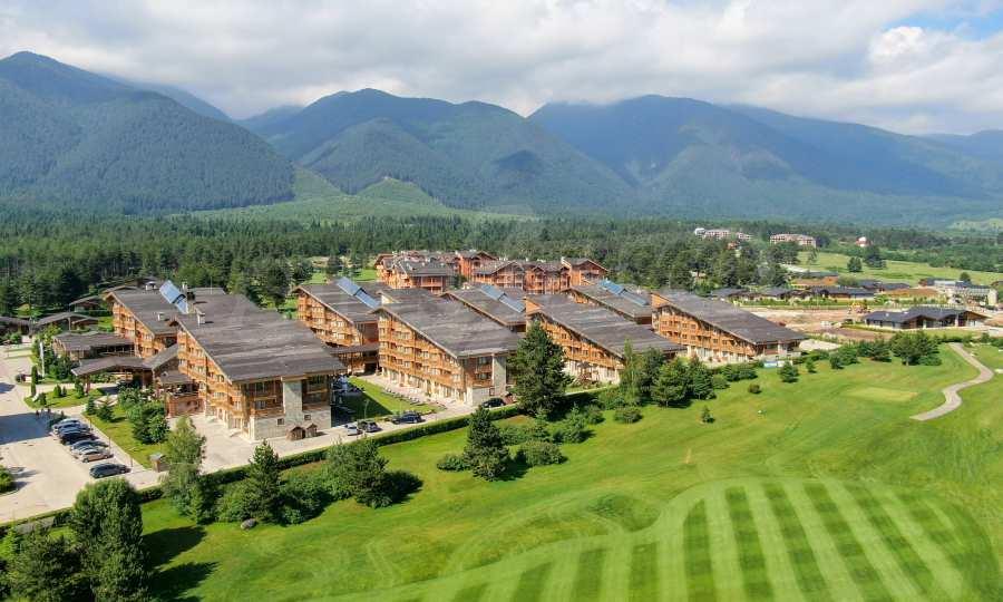 Breite Auswahl an Apartments im Golf-Komplex, St. Razlog