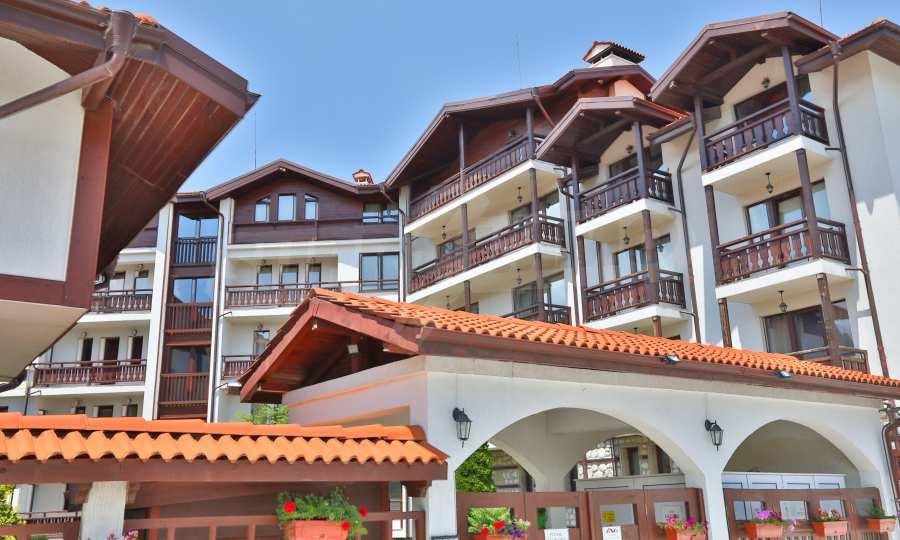 Nur 50 m vom Skilift in Bansko entfernte 2-Zimmer-Wohnung 11