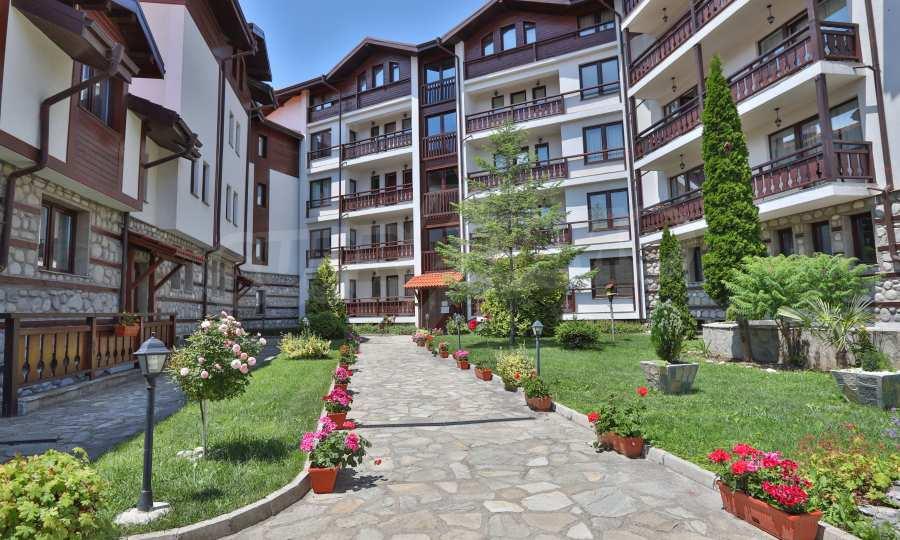Nur 50 m vom Skilift in Bansko entfernte 2-Zimmer-Wohnung 12