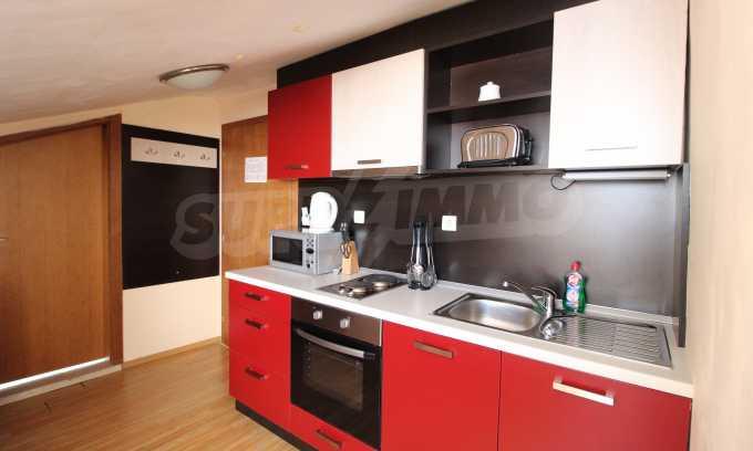 Gemütliches 2-Raum-Apartment im Komplex Mountview Lodge