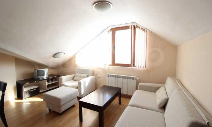 Gemütliches 2-Raum-Apartment im Komplex Mountview Lodge 1