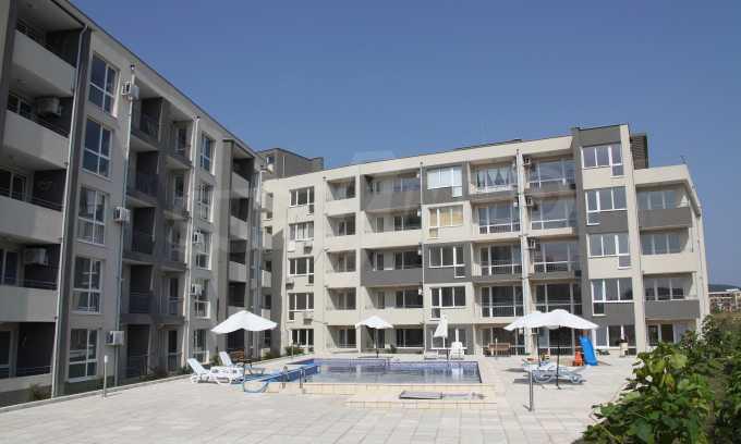 Ferienapartments im neuen Komplex im Kurort Sweti Wlas 1