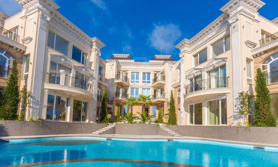Elite-Apartments in der Meerresidenz Belle Époque 8