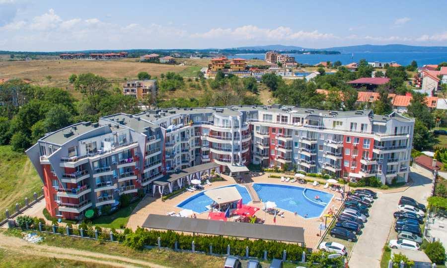 Luxury apartment complex Emberli
