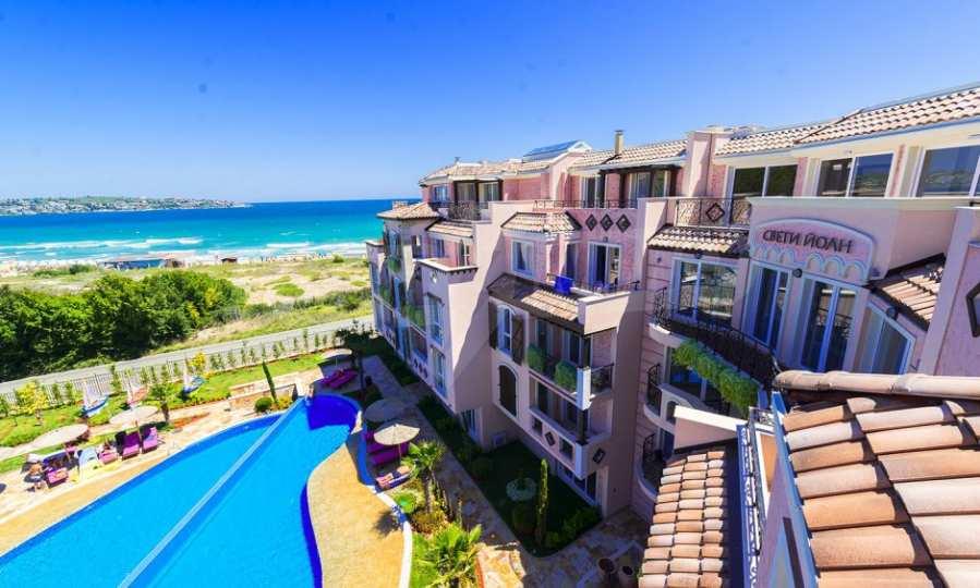 Apartments im eleganten Komplex in erster Linie am Strand Kawatsi, Sozopol 23