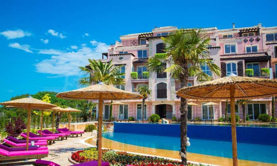 Apartments im eleganten Komplex in erster Linie am Strand Kawatsi, Sozopol
