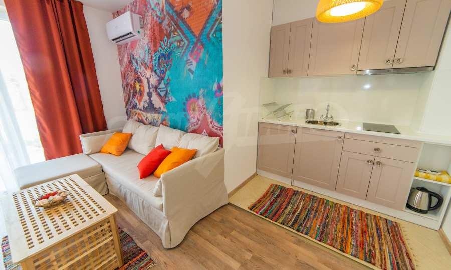 Apartments im eleganten Komplex in erster Linie am Strand Kawatsi, Sozopol 18