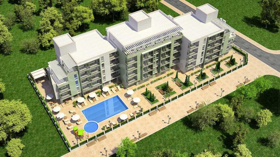 Apartments zu attraktiven Preisen im geschlossenen Komplex
