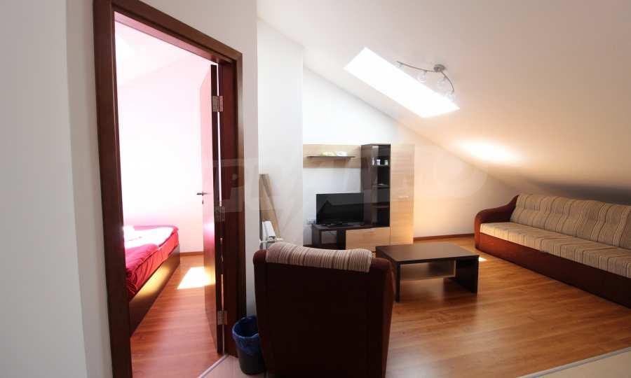 2-Raum-Apartment im luxuriösen Komplex in Bansko 2