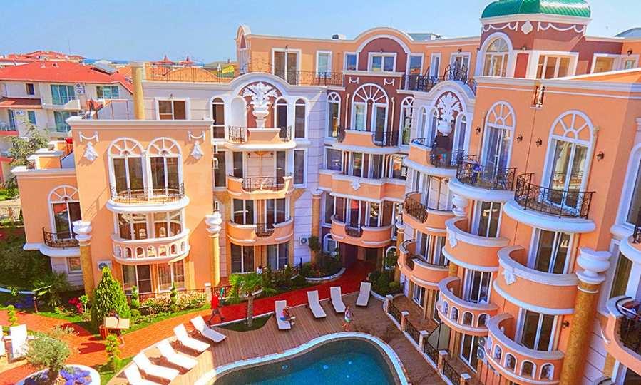 2-Raum-Apartment im Elite-Komplex in der Nähe vom Strand in Rawda
