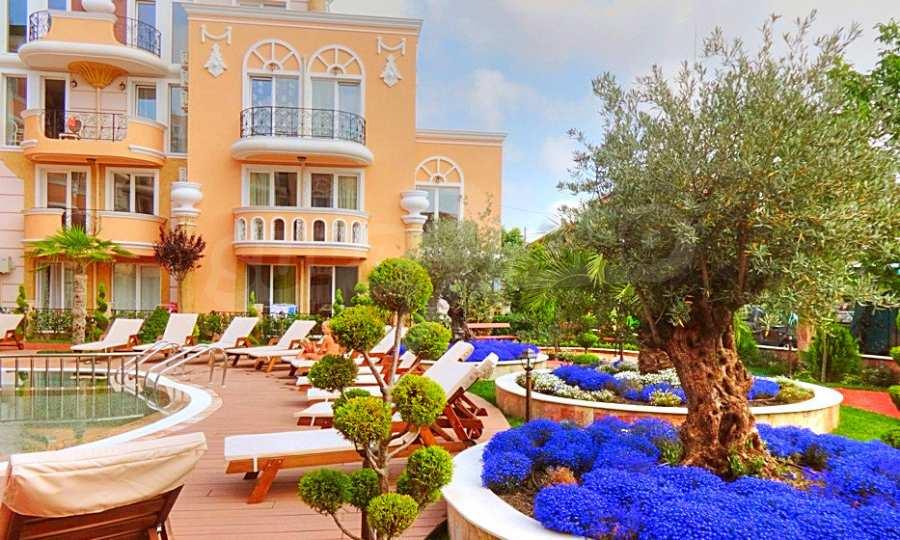 2-Raum-Apartment im Elite-Komplex in der Nähe vom Strand in Rawda 2