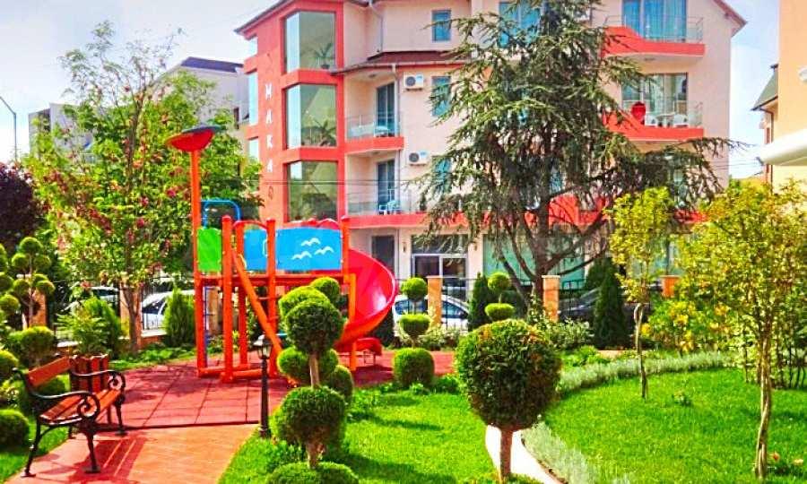 2-Raum-Apartment im Elite-Komplex in der Nähe vom Strand in Rawda 3