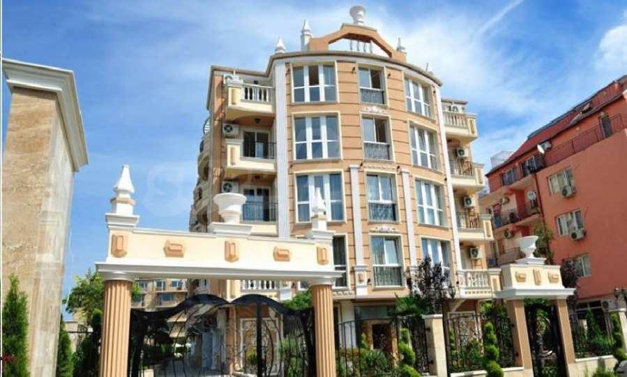 2-Raum-Apartment - 100 m vom Strand in Rawda entfernt