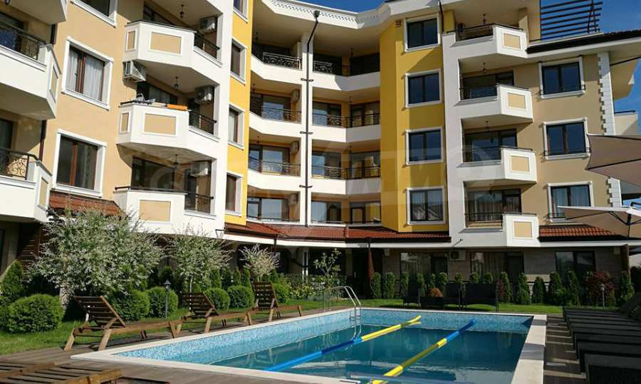 Apartments im Komplex Emilia Romana im Dorf Rawda 27