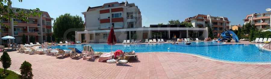 2-Raum-Apartment in der Nähe vom Strand am Sonnenstrand