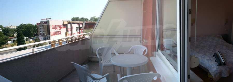 2-Raum-Apartment in der Nähe vom Strand am Sonnenstrand 14