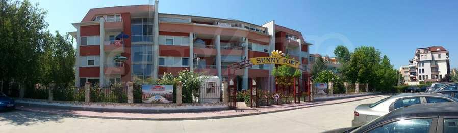 2-Raum-Apartment in der Nähe vom Strand am Sonnenstrand 1
