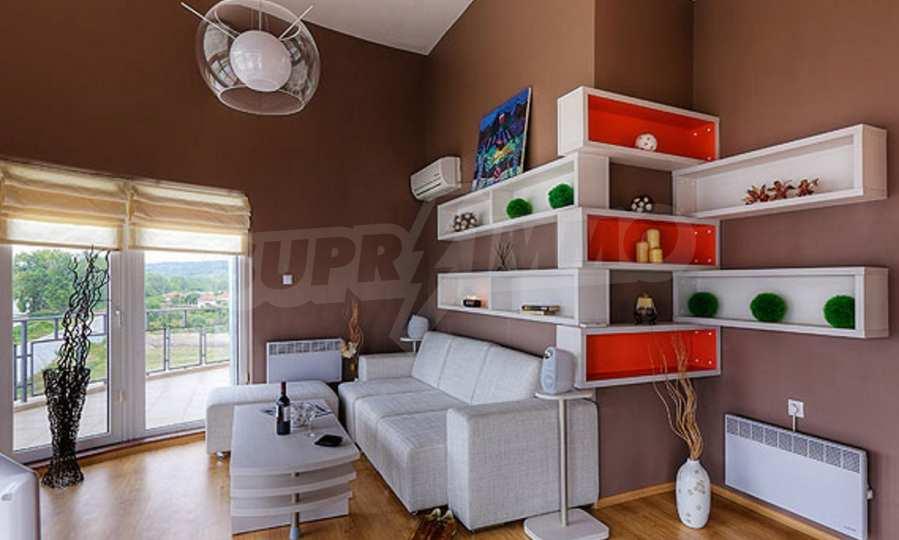 3-Raum-Apartment mit einer großen Dachterrasse 4